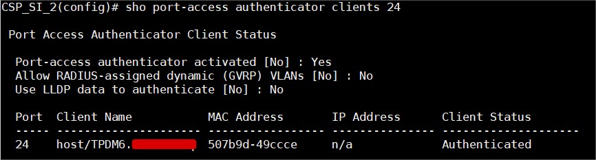 Dot1X and MAB Authentication on Aruba OS – Networking-Labs&Co